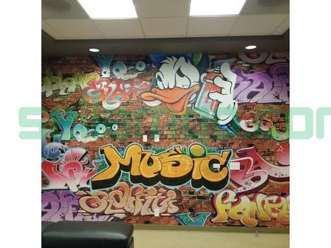 Seamingly Straight, Wallpaper, wall cove...