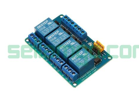 BESTEP 4 Channel 12V Relay Module High A...