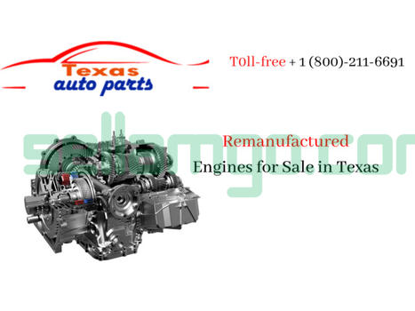 Rebuild and Used Engines for Sale