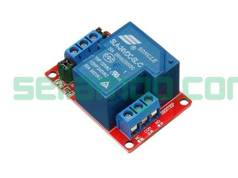 BESTEP 1 Channel 24V Relay Module 30A Wi...