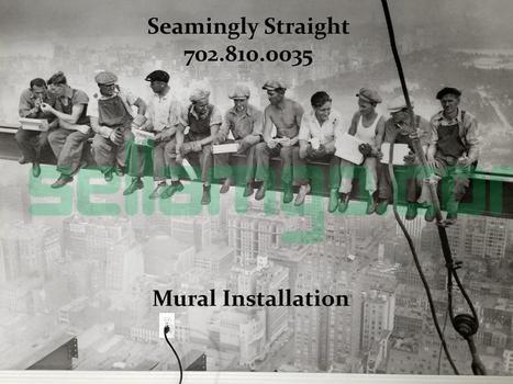 Seamingly Straight Inc. Las Vegas's Wall...