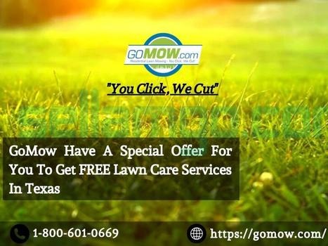 GoMow Have A Special Offer For You To Ge...