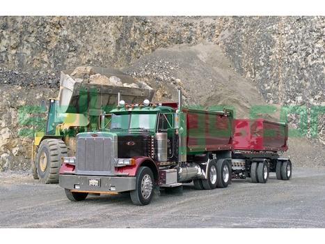 Dump truck & construction equipment ...