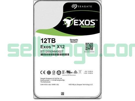 Seagate ST12000NM0027 Exos X12 12Tb SAS-...