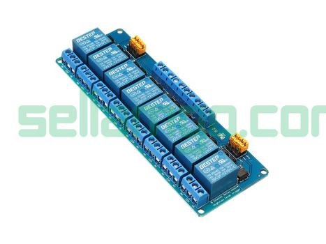 BESTEP 8 Channel 12V Relay Module High A...