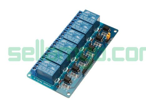 BESTEP 6 Channel 12V Relay Module Low Le...